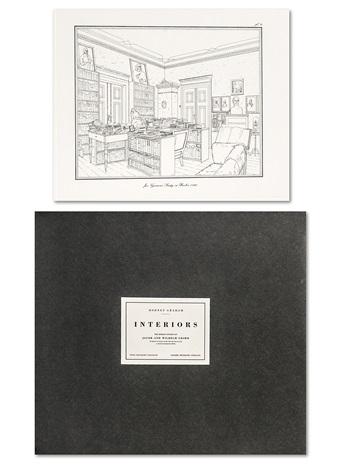 interiors the berlin studies of jacob and wilhelm grimm portfolio of 10 by rodney graham
