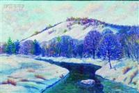 winter view by howard daniel becker
