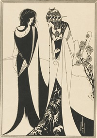 salomé (bk by oscar wilde w/5 works) by aubrey vincent beardsley