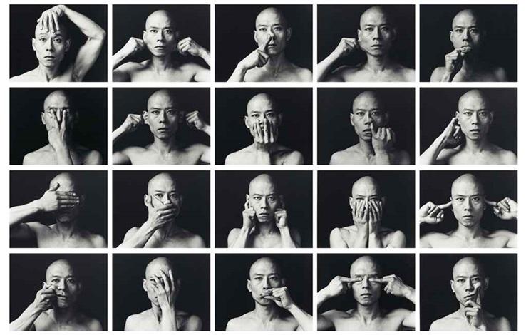 skin set of 20 by zhang huan