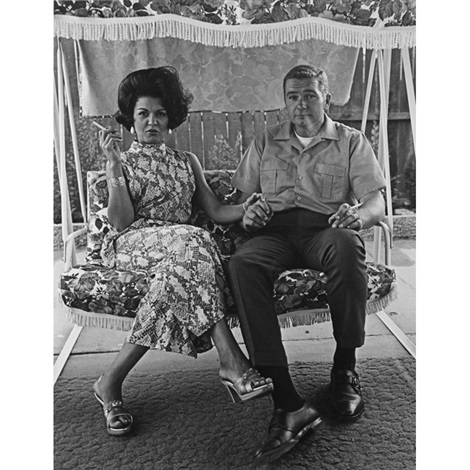 cleo and james pruden by bill owens