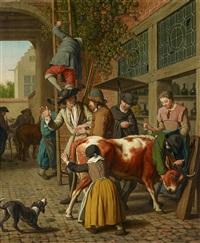 Auktionsergebnisse von jan josef horemans the elder jan for Horemans interieur