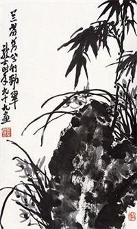 兰草图 by xiao longshi
