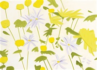 field flowers i by alex katz