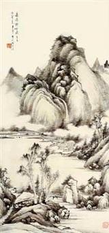 长瀑倚空飞 by li shou'an