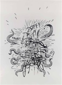 untitled (poff! crunk! crak!) by jim shaw