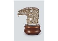 radiator cap : tete d'aigle by rené lalique