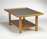 coffee table, model e-17 by j. robert swanson, pipsan swanson saarinen and eliel saarinen