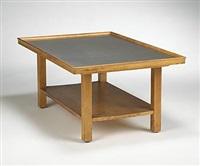 coffee table, model e-17 by j. robert swanson, pipsan swanson saarinen and eliel saarinen