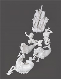neptune chariot (set of 6) by dominikus aulicezk