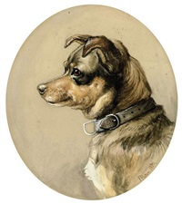 a favorite terrier by frank paton