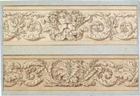 blumengirlanden (7 designs, various sizes) by georg pein