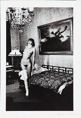 jenny kapitän pension dorian berlin 1977 by helmut newton