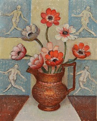 anemones with dancing men by emma fordyce macrae