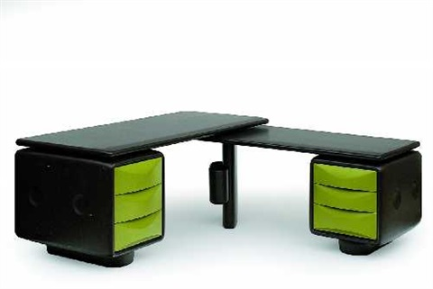 winkelschreibtisch jet von ernst igl auf artnet. Black Bedroom Furniture Sets. Home Design Ideas
