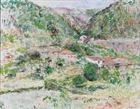 mountain village by sigurd swane