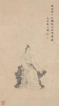 武则天像 by yu zhiding
