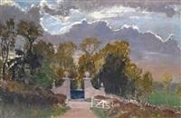 the mynte gate, corsham park by paul ayshford methuen