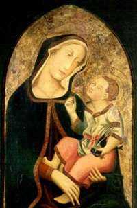 maria mit kind by simone martini