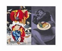 pie (in 2 parts) by david salle
