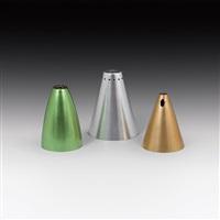 3 lampenschirme (set of 3) by franz hagenauer