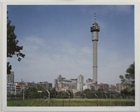 view of johannesburg tower by david goldblatt