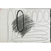 not a first (3 works) by jonathan lasker