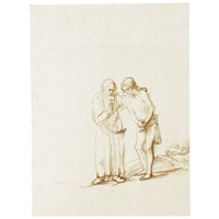 abraham and isaac by samuel van hoogstraten