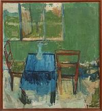 green living room by age vogel-jorgensen