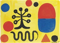 the lollypop tree by alexander calder