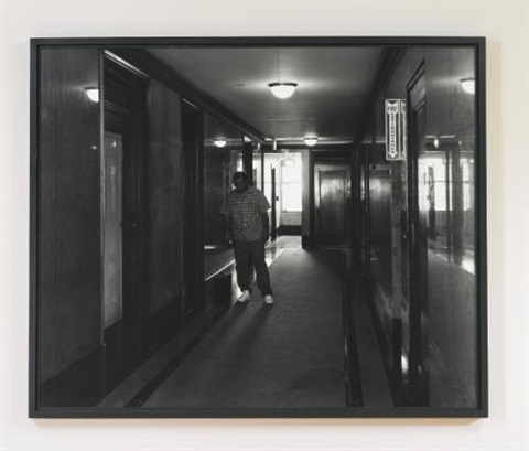 office hallway, spring street, los angeles by jeff wall