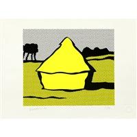 haystack by roy lichtenstein