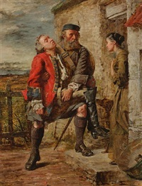 scene from the rebellion by william ewart lockhart