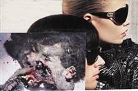 collage-serie b - xxi by thomas hirschhorn