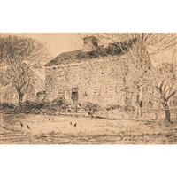 home sweet home cottage no. 2 by childe hassam