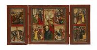 scener ur jesu liv (triptych) by austrian school-tyrolean (16)