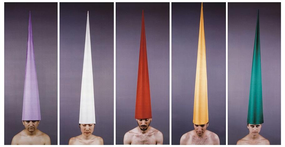 human receivers (5 works) by marina abramović