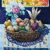 cesto di frutta sul tavolo by dino aliberti