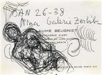 femme nue by alberto giacometti