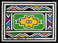 senza titolo by esther mahlangu