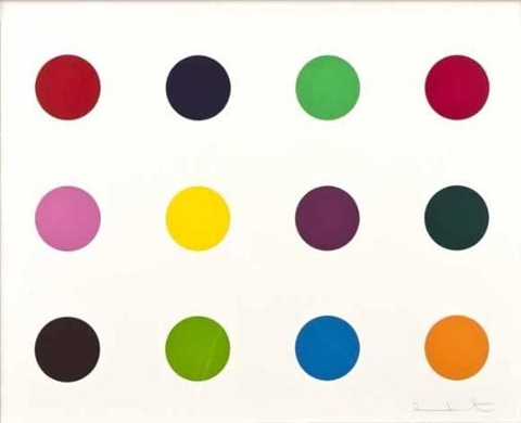 methionine by damien hirst