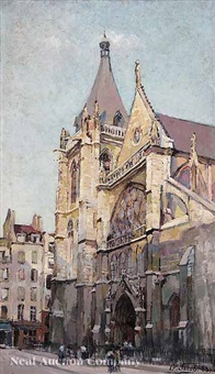 the church of saint-severin, paris by g. jacob