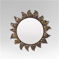 sonnenblumen-spiegel by franz hagenauer