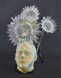 untitled (flower head) by kiki smith