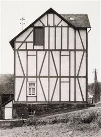 wohnhaus in niederfischbach, kreis altenkirchen by bernd and hilla becher