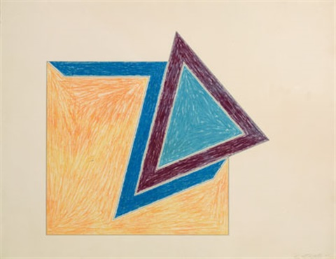moultonboro (from eccentric polygons) by frank stella