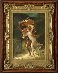 the storm (by lucia angell) by pierre auguste cot