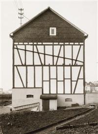 wohnhaus in neunkirchen, kreis siegen by bernd and hilla becher