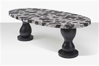 salome, a dining table by elizabeth garouste and mattia bonetti