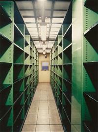 bibliothèque nationale de france, site richelieu magasin des imprimés, paris vi by candida höfer